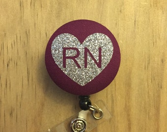 RN Nurse - Badge Reel