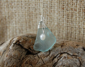 Sea Glass Necklace #18