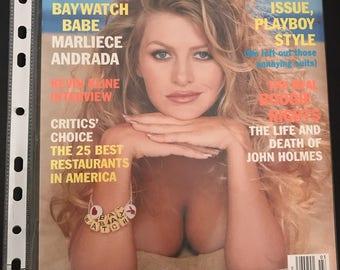 Playboy Magazine - March 1998 - Marliece Andrada
