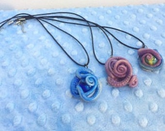 Octopus Tentacle Necklaces