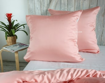 Bamboo coral bedding sets queen coral comforter duvet cover sets bed sets