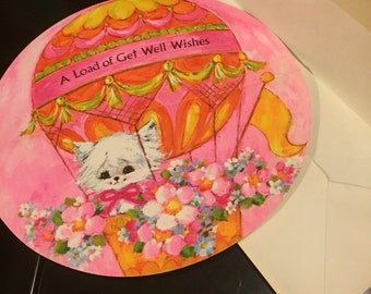 Get Well Wishes Round Card