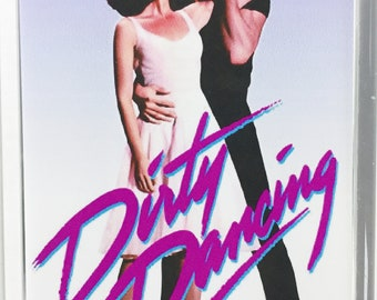 Dirty Dancing Patrick Swayze Jennifer Grey Jerry Orbach Cynthia Rhodes Movie poster Fridge Magnets and Keyrings Version 1 - New