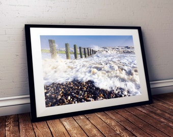 Wall Art Print | Camber Sands in Spring | Gloss Print, Fine Art Print or Canvass Wrap | Various sizes