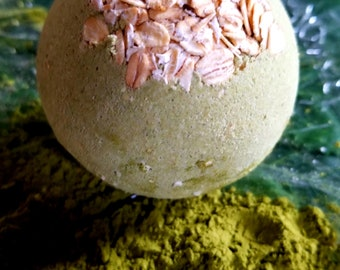 Matcha Green Tea Bath Bomb