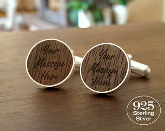 First Anniversary Gift for Him,Custom cufflinks with Dedication,Song,Initials,One Year Anniversary,1 Year Anniversary Gift for Him,Bitcoin