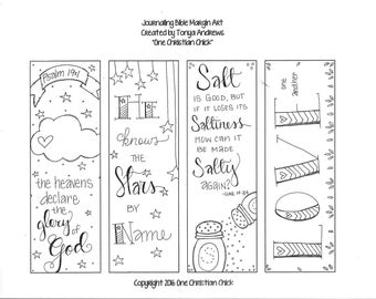 Bible Journaling Margin Art: Salt