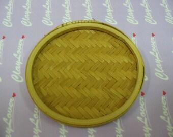 Miniature Bamboo Fruit Tray (2020001A)