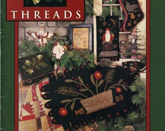 Pattern Book: Winterberry Threads from Need'l Love