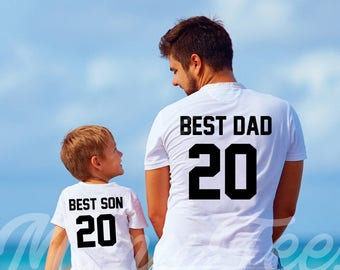 Dad and son matching shirts best dad ever shirt daddy and son shirts  fathers day gift best dad shirt father and son matching shirts father