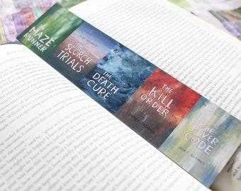Maze Runner Bookmark