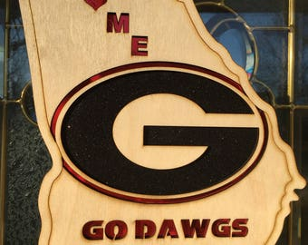 Georgia Bulldogs Wall Plaque