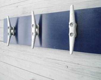 4 LARGE boat cleats coat rack pool hot tub towels nautical farmhouse cabin fishing sailing mancave lake cottage BeachHouseDreams fixer upper
