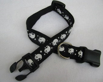 Halloween Ghost Dog Collar - MULTIPLE SIZES AVAILABLE