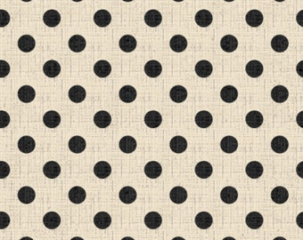 French Couture Textured Dots in Cream - Half Yard