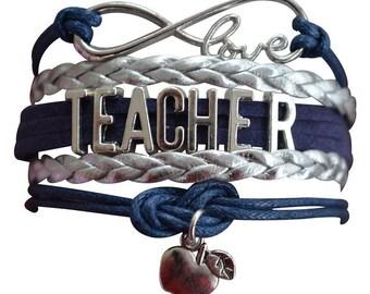 Teacher Gift - Teacher Bracelet – Teach Gift - Teacher Appreciation- Graduation- Perfect Gift for Teachers