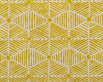 Premier Prints- Heni Golden Rod. Natural Slub- Fabric By The Yard
