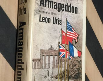 Armageddon by Leon Uris (1964) hardcover book