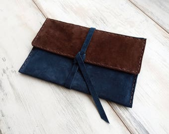 Suede Leather iPad Mini Case Leather iPad Cover Brown Leather 7.9 inch Tablet Case