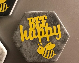 "Magnet -""Bee Happy"""