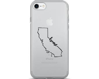 California Home State - iPhone Case (iPhone 7/7 Plus, iPhone 8/8 Plus, iPhone X)