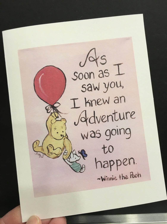 Love card adventure winnie the pooh classic pooh greeting zoom m4hsunfo