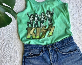 Ultra Rare// KISS Band//70's Tank Top