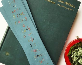 Pack of 5 // Haiku Bookmarks