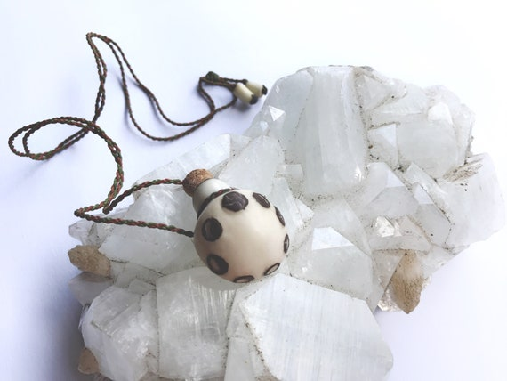 Moon Phase Essential Oil Talisman Necklace