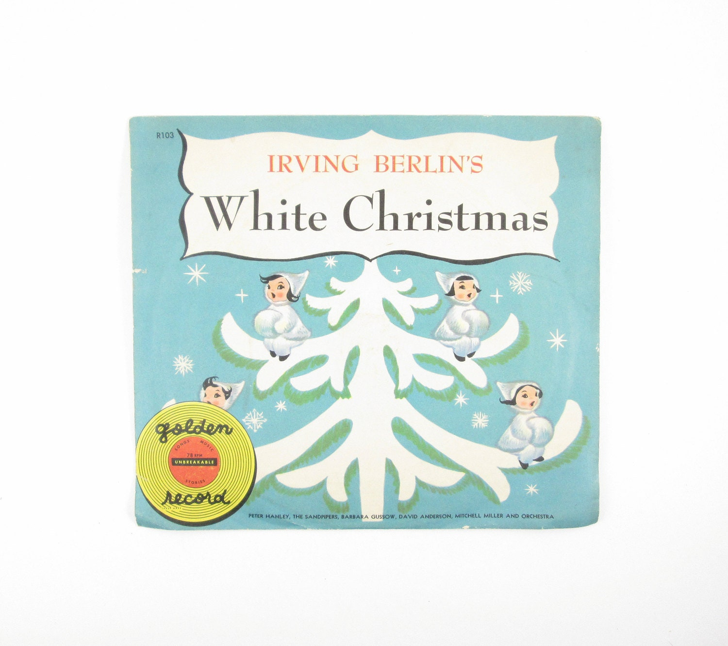 Irving Berlin\'s White Christmas Little Golden Records