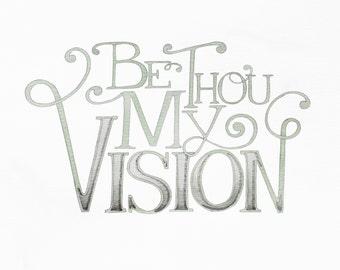 Be Thou My Vision print