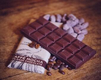 Dairy Free Vegan Dark Coffee Chocolate - Caffe Mocha