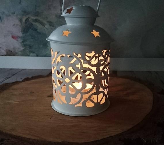 Marokkanische Weiße Kerze Laterne Schöne Hochzeit Herzstück