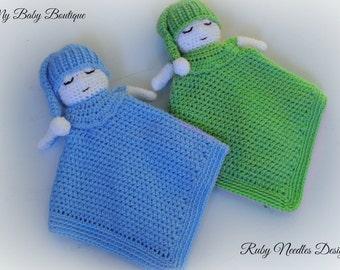 My Little Sleepy Baby Boy Lovey - Crochet Pattern