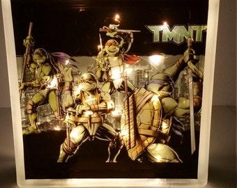 TMNT Glass Block Light