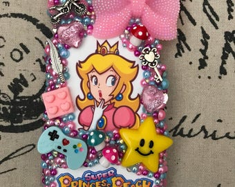 Princess Peach iPhone Samsung phone case