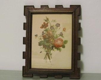 Vintage Prevost Botanical Floral Print Wall Art Decor Vintage Gifts