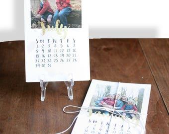 BRICOLAGE Photo calendrier, calendrier 2018 Photo personnalisé, calendrier personnalisé, calendrier, calendrier de bureau, calendrier de bureau personnalisé - personnalisé - 4.5x7