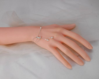 Wedding jewelry: Bracelet Duo of rhinestones. Ideal wedding, party!