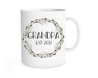 Grandpa Mug, New Grandpa Mug, New Grandpa Gift, Grandpa Gift, Grandpa Present, Grandpa Coffee Mug, Christmas Gift, Pregnancy Reveal