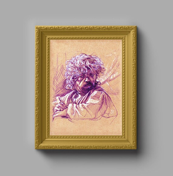 GAME of THRONES Tyrion Lannister Art Print Gift for Him