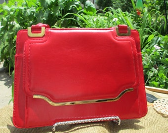 Vintage Hipster Red Purse free shipping