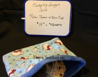 Snuggle sack for hedgehog or other small animal