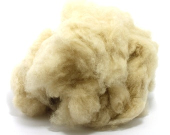 De-Haired White Baby Camel Down - Spinning Fibre / Fiber - Felting