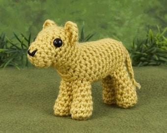 PDF Lion Cub amigurumi CROCHET PATTERN