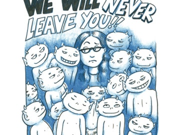 We Will Never Leave You - PDF - coloring comic