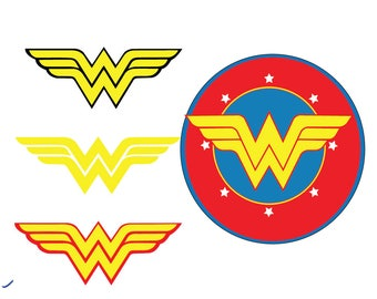 Wonder Woman SVG, Super Heroes SVG Files, Super Hero Cricut Cut File, Wonder Woman SVG Files, Wonder Woman Word Cuttable, Instant Download