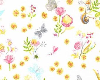 Michael Miller Fabrics - Nature Walk - Little World by Tamara Kate