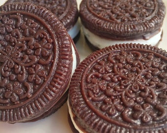 Oreo Cookie Soaps set of 4