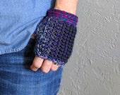 Purple Gloves / Fingerles...